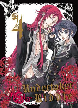 Couverture du livre : Undertaker Riddle, tome 4