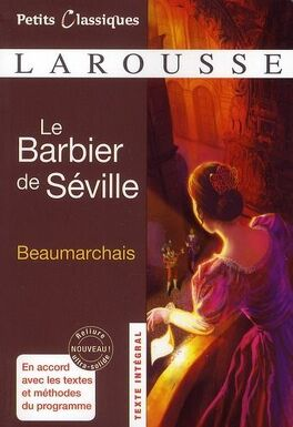 Couverture du livre : Le Barbier de Séville