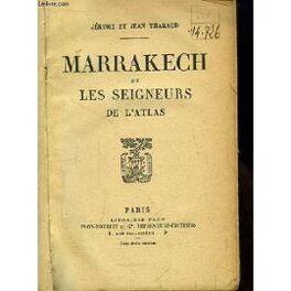 Couverture du livre : Marrakech