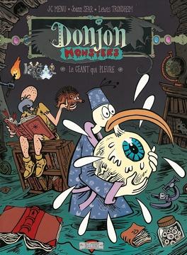 Couverture du livre : Donjon Monsters, tome 2 : Le géant qui pleure