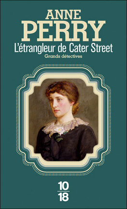 Couverture du livre : L'Étrangleur de Cater Street