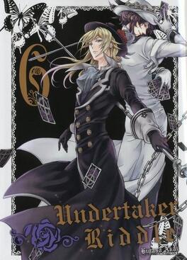 Couverture du livre : Undertaker Riddle, tome 6