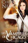 couverture Les Vampires de Chicago, Tome 6 : Morsure de sang froid