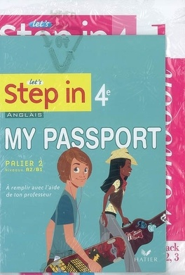 Let S Step In 4e Anglais Palier 2 Niveaux A2 B1 Workbook 1