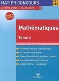 Mathématiques, PE1-PE2 : Volume 2