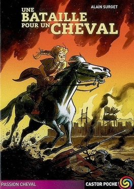 Couverture du livre : Une bataille pour un cheval