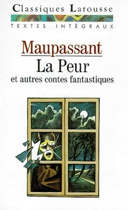Couverture du livre : La peur et autres contes fantastiques