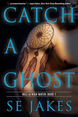 Couverture du livre : Hell or High Water, Tome 1 : Catch a Ghost