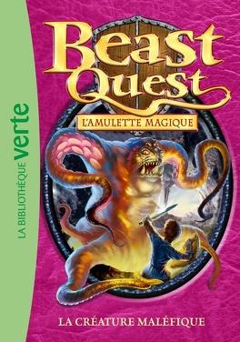 Couverture du livre : Beast Quest, Tome 23 : La créature maléfique