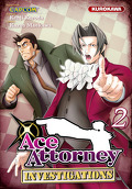 Ace Attorney : Investigations, Tome 2