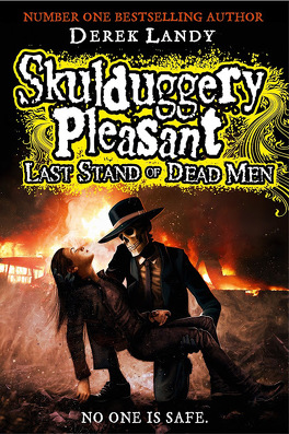 Couverture du livre : Skullduggery Pleasant, book 8 : Last Stand Of The Dead Men.