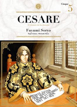 Couverture du livre : Cesare, Tome 5