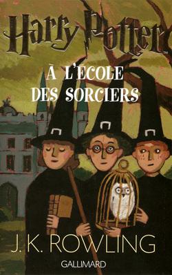 Couverture de Harry Potter, Tome 1 : Harry Potter à l'école des sorciers