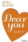 couverture Dear You, Acte 4