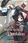 couverture The Mystic Archives of Dantalian, tome 5