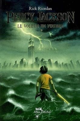 Couverture du livre : Percy Jackson, Tome 1 : Le Voleur de foudre