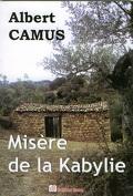 Misère de la Kabylie