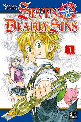 Couverture du livre : Seven Deadly Sins, Tome 1