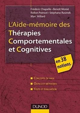 Couverture du livre : L'aide-mémoire des thérapies comportementales et cognitives