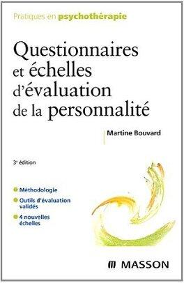 Couverture du livre : Questionnaires et échelles d'évaluation de la personnalité