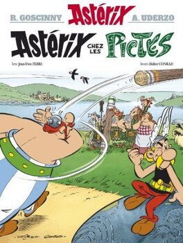 Couverture du livre : Astérix, Tome 35 : Astérix chez les Pictes