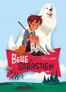Couverture du livre : Belle et Sébastien