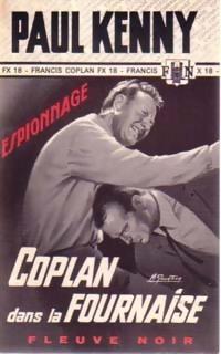 Couverture du livre : Coplan dans la fournaise
