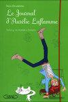 couverture Le Journal d'Aurélie Laflamme, tome 4 : Le Monde à l'envers