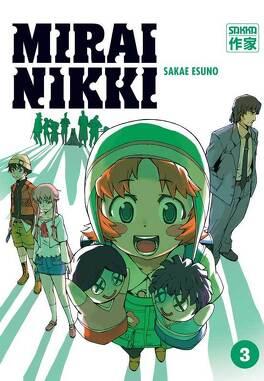Couverture du livre : Mirai Nikki - tome 3