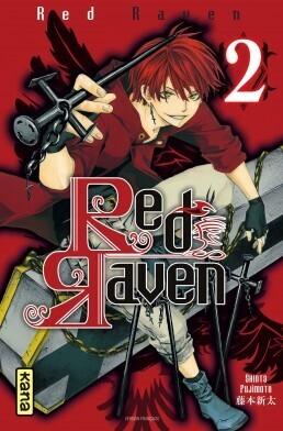 Couverture du livre : Red Raven, Tome 2