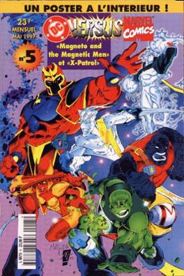 Couverture du livre : DC versus Marvel N°5
