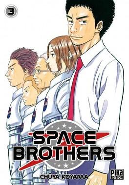 Couverture du livre : Space Brothers, Tome 3