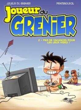 Couverture du livre : Joueur du grenier, Tome 2 : Pas de vacances pour les jeux vidéos