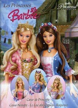 Couverture du livre : Les Princesses Barbie : Coeur de Princesse - Casse-Noisette - Le Lac des Cygnes - Raiponce