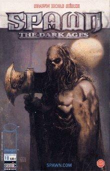 Couverture du livre : Spawn the dark ages N°7