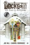 couverture Locke & Key, tome 4 : Les Clés du Royaume