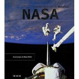 Couverture du livre : Lhistoire illustrée de la NASA