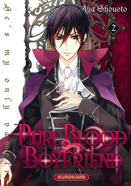 Couverture du livre : Pure blood boyfriend : He's my only vampire, Tome 2