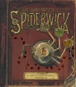 Couverture de Les chroniques de Spiderwick : un voyage au coeur du monde merveilleux avec Chafouin