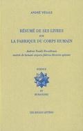 Résumé de ses livres sur la fabrique du corps humain