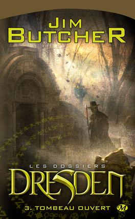 Couverture du livre : Les Dossiers Dresden, Tome 3 : Tombeau Ouvert