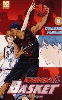 Couverture du livre : Kuroko's Basket, Tome 8