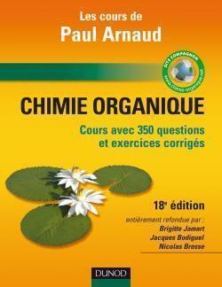 Couverture du livre : Chimie organique : cours, QCM et applications
