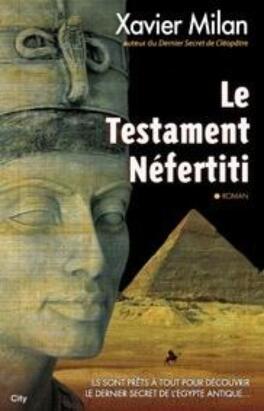 Couverture du livre : Le Testament Néfertiti
