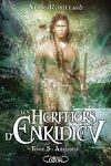 couverture Les Héritiers d'Enkidiev, Tome 5 : Abussos