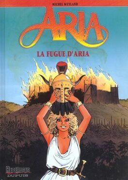 Couverture du livre : Aria, tome 1 : La fugue d'Aria