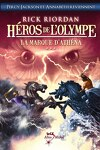 couverture Héros de l'Olympe, Tome 3 : La Marque d'Athena