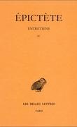 Entretiens, Livre IV