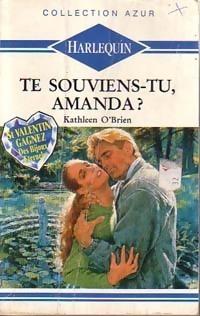 Couverture du livre : Te souviens-tu, Amanda ?