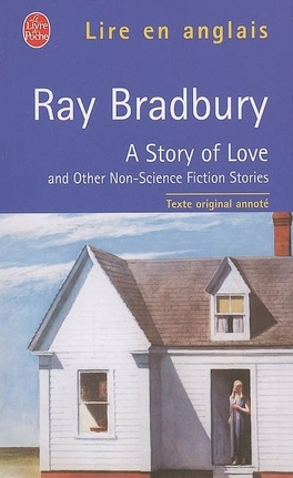 Couverture du livre : A story of love : and other non-science fiction stories